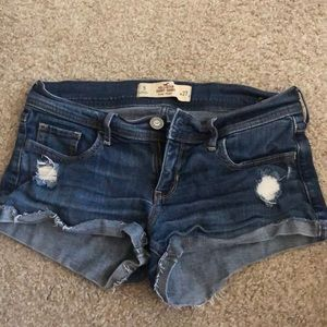 Hollister shorts size 5